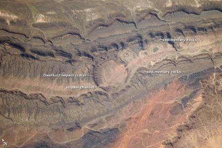 Ударные кратеры в историия Земли