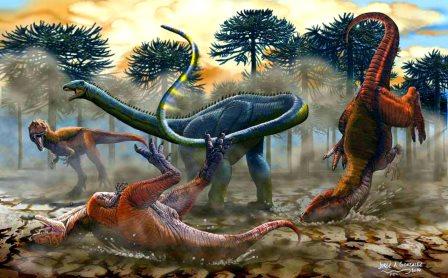10 недавно открытых видов динозавров 8