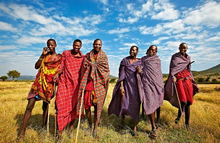 Масаи: верные многоженцы