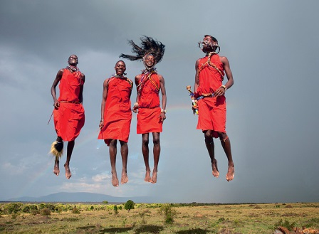 Женский танец масаев