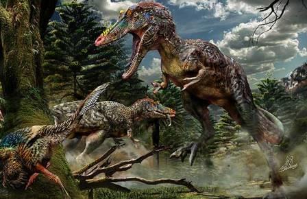 10 недавно открытых динозавров 4