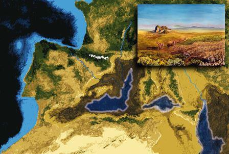 Закрытие канала между Средиземным морем и Атлантическим океаном