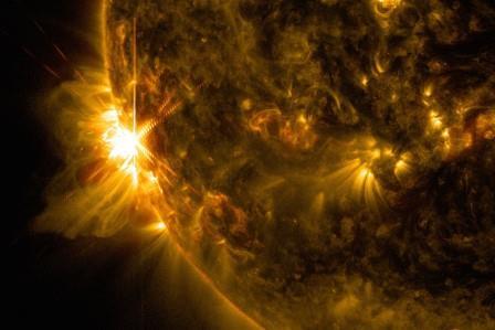 Солнечная вспышка класса X2.2