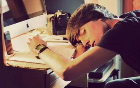 Сон после учебы