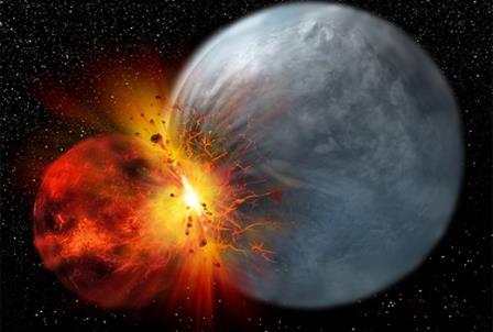 Ученые подтвердили гипотезу происхождения Луны