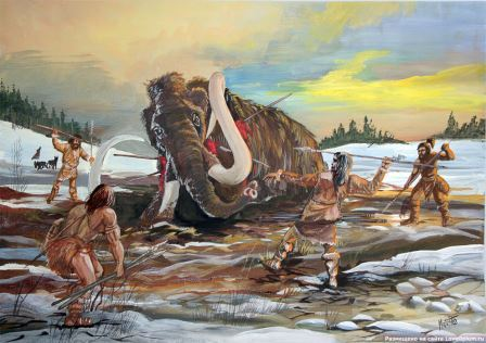 Американские индейцы Кловис охотились на древних слонов