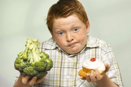 Лишний вес не зависит от типа питания