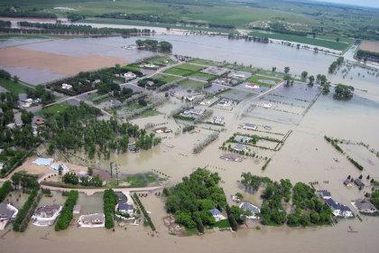 Разлив Миссури в 2011 году