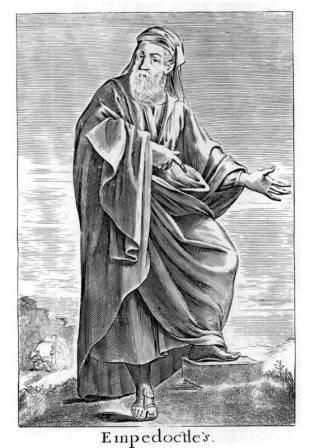 Эмпедокл (гравюра XVII в.)