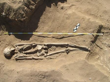 Погребение в аль-Хидае