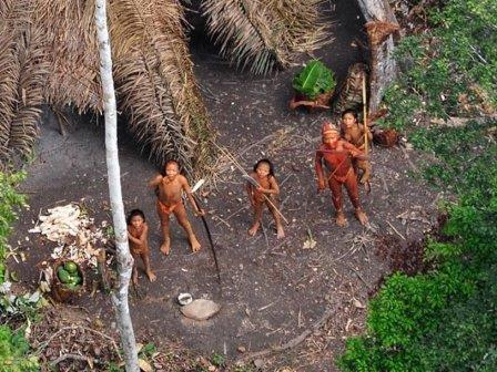 Представители изолированного племени