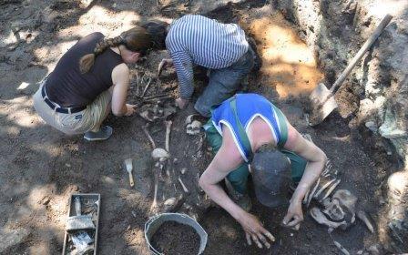 Псковские археологи