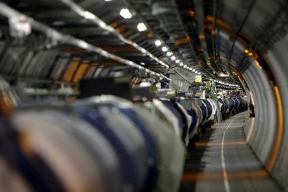 Участок кольца БАКа в ЦЕРНе