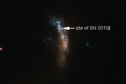 Учёные отследили зарождение звездной пыли