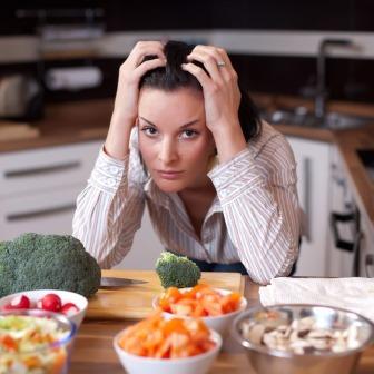 Стресс у женщин замедляет метаболизм