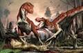 Возможный пример социальных взаимоотношений у тираннозаврид