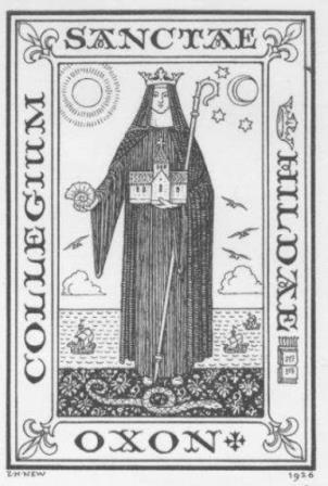 Святая Хильда с аммонитом в руке