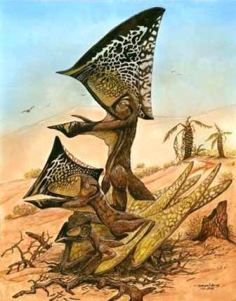 Три возрастные стадии развития птерозавра Caiuajara dobruskii