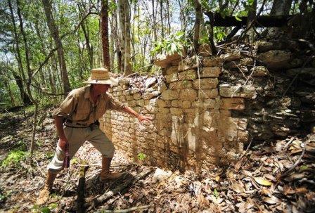 В Мексиканских джунглях обнаружили два древних города