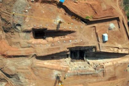 Гробница правителя царства Цзянду Лю Фэя