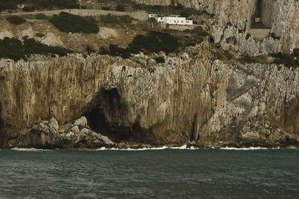 Вид на пещеру Горхэма