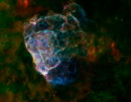 Получен подробный снимок сверхновой Puppis A