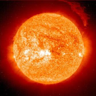Ученые определили тип энергии солнечного потока