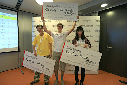 Победители Яндекс.Алгоритм