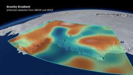 Распределение гравитации Земли значительно варьируется