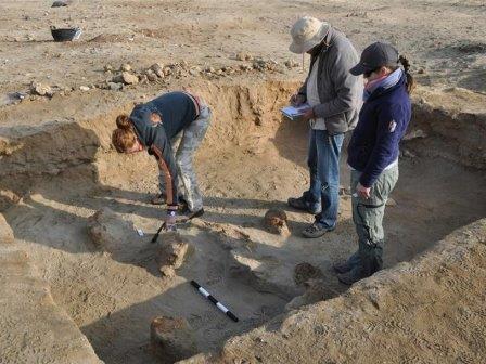Раскопки античного порта