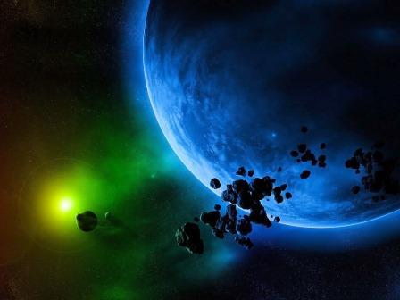 В атмосфере экзопланеты впервые обнаружен водяной пар