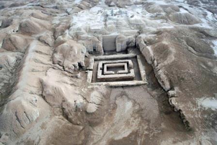 Фотография археологического памятника культуры Урук. 2010