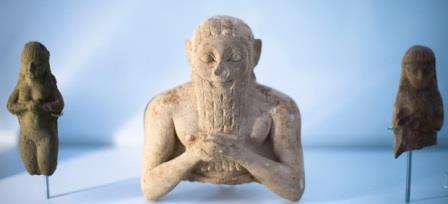 Верхняя часть скульптуры. Урer, 3000 – 2400 годы до нашей эры