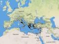 Фрагмент карты «Географии» Страбона