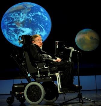 Стивен Хокинг на лекции