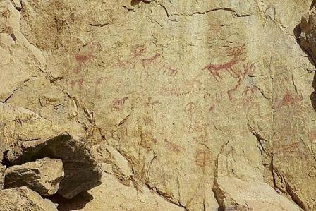 наскальные рисунки III тысячелетия до нашей эры