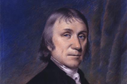 Фрагмент портрета Джозефа Пристли (Joseph Priestley)