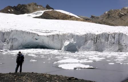 За 40 лет в Перу растаяли 40% ледников