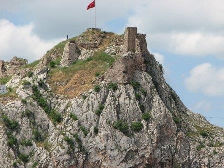 Крепость в городе Токат (Турция)