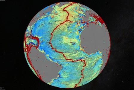 Ученые составили новую карту морского дна