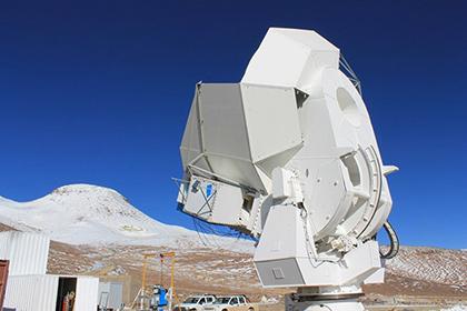 Телескоп проекта POLARBEAR
