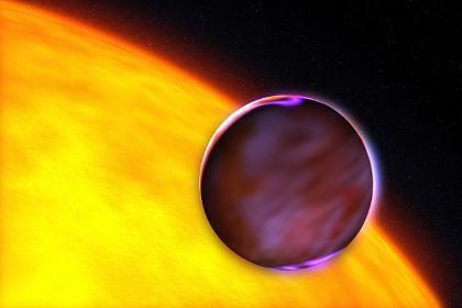 Горячий юпитер около своей звезды