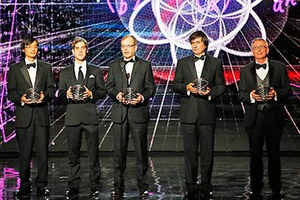 Лауреаты Breakthrough Prize в области математики, 9 ноября 2014 года