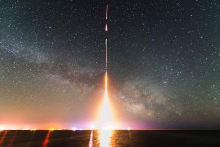 Последний запуск ракеты NASA в рамках эксперимента CIBER