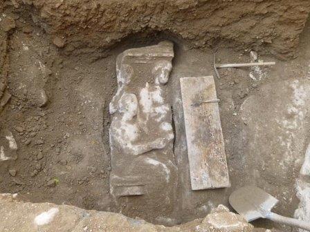 Надгробие, найденное в Афинах
