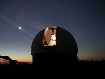Наблюдения за звёздным небом в декабре 2014 года
