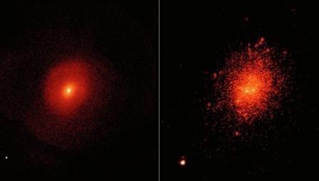 В галактике Маркарян обнаружили неизвестный источник света