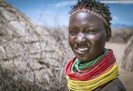 Представительница племени ньянгатом