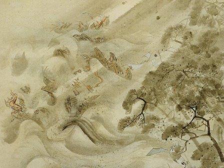 Божественный ветер разбивает японский флот