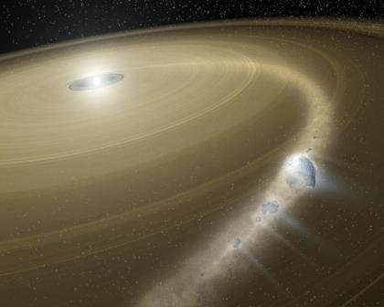 В молодых галактиках обнаружили огромное количество атомарного водорода